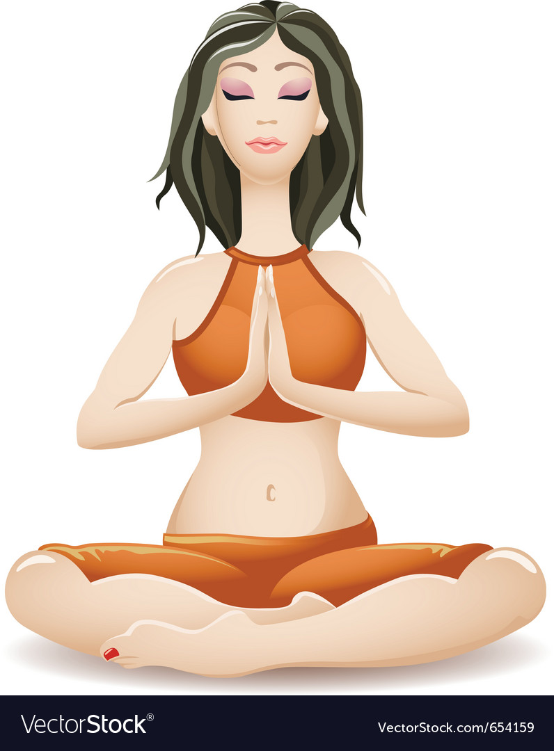 Yoga vector | Price: 3 Credit (USD $3)