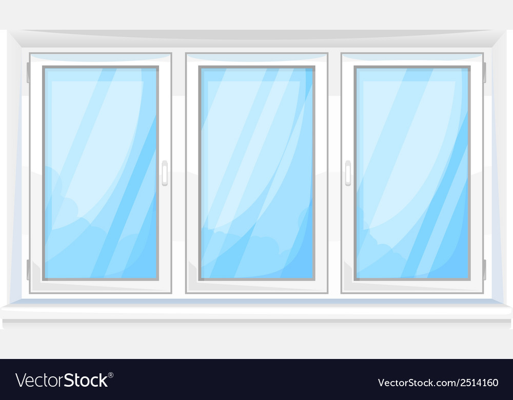Big window vector | Price: 1 Credit (USD $1)