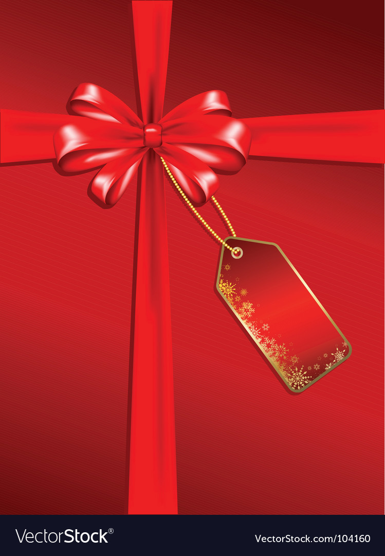 Christmas gift background vector | Price: 1 Credit (USD $1)