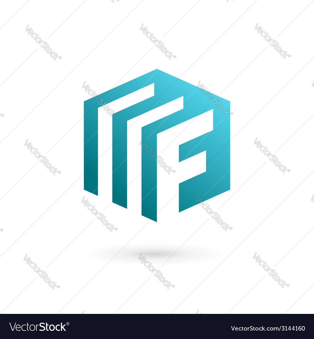 Letter f document logo icon design template vector | Price: 1 Credit (USD $1)