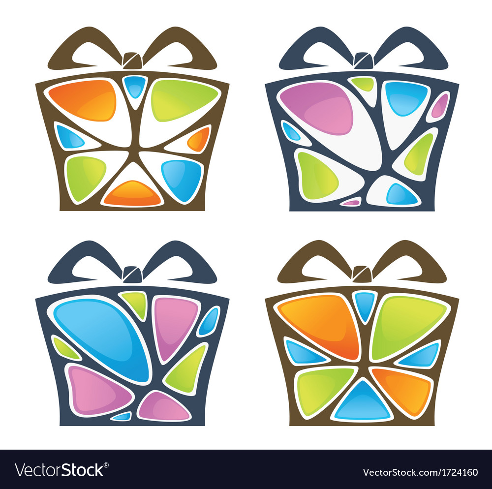 Present boxes vector | Price: 1 Credit (USD $1)