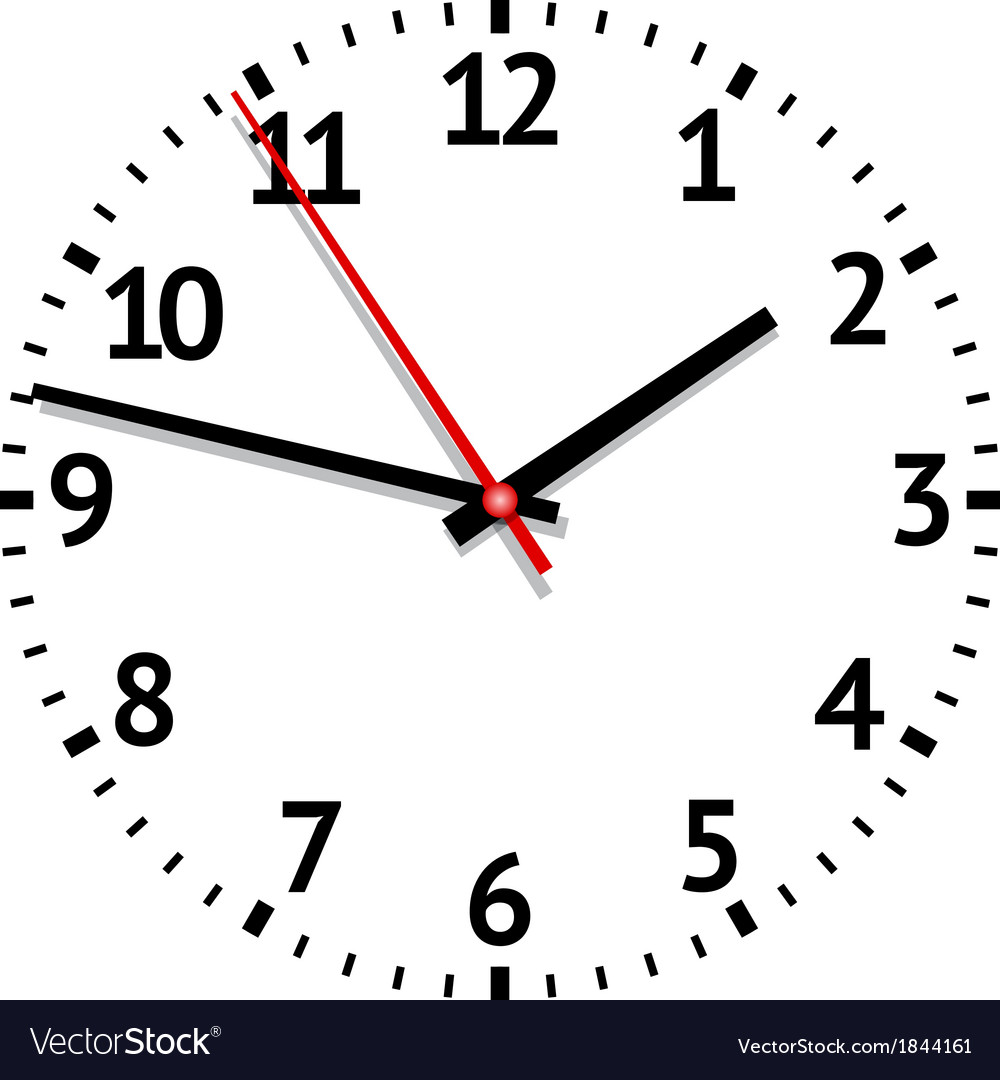 Clock vector | Price: 1 Credit (USD $1)
