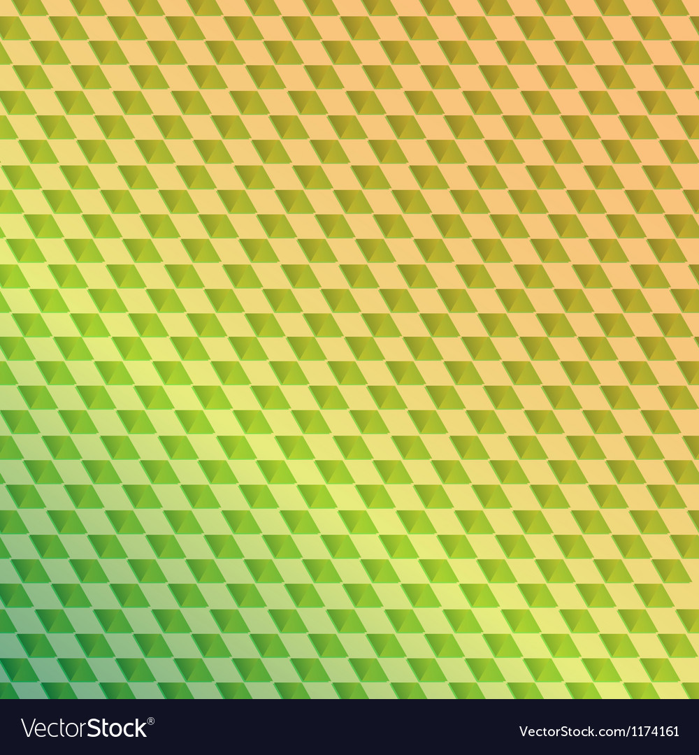 Retro green squared abstract background vector | Price: 1 Credit (USD $1)