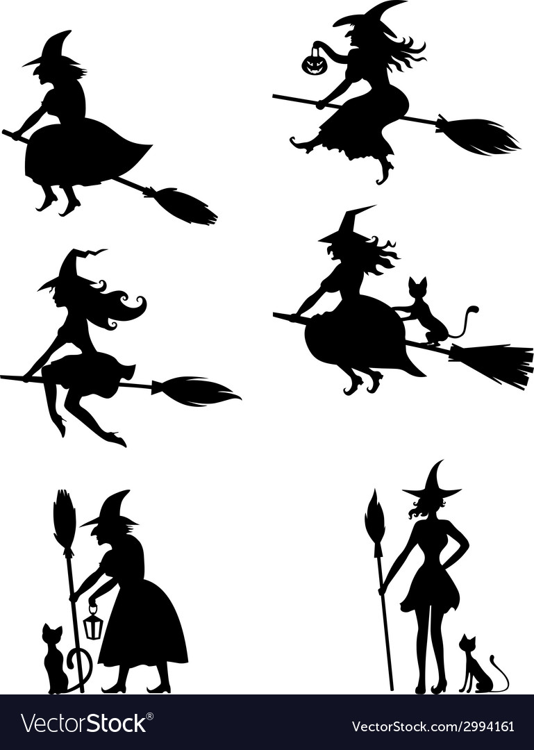 Witch set vector | Price: 1 Credit (USD $1)