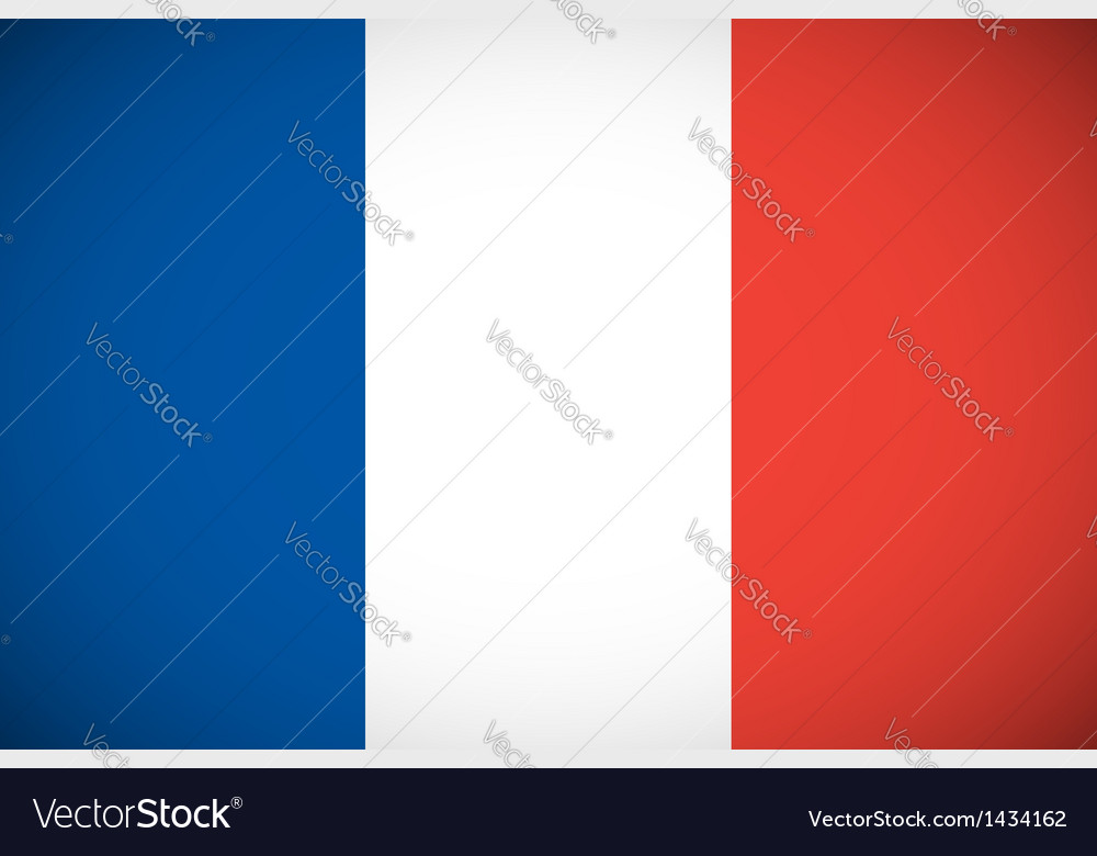 National flag of france vector   Price: 1 Credit (USD $1)