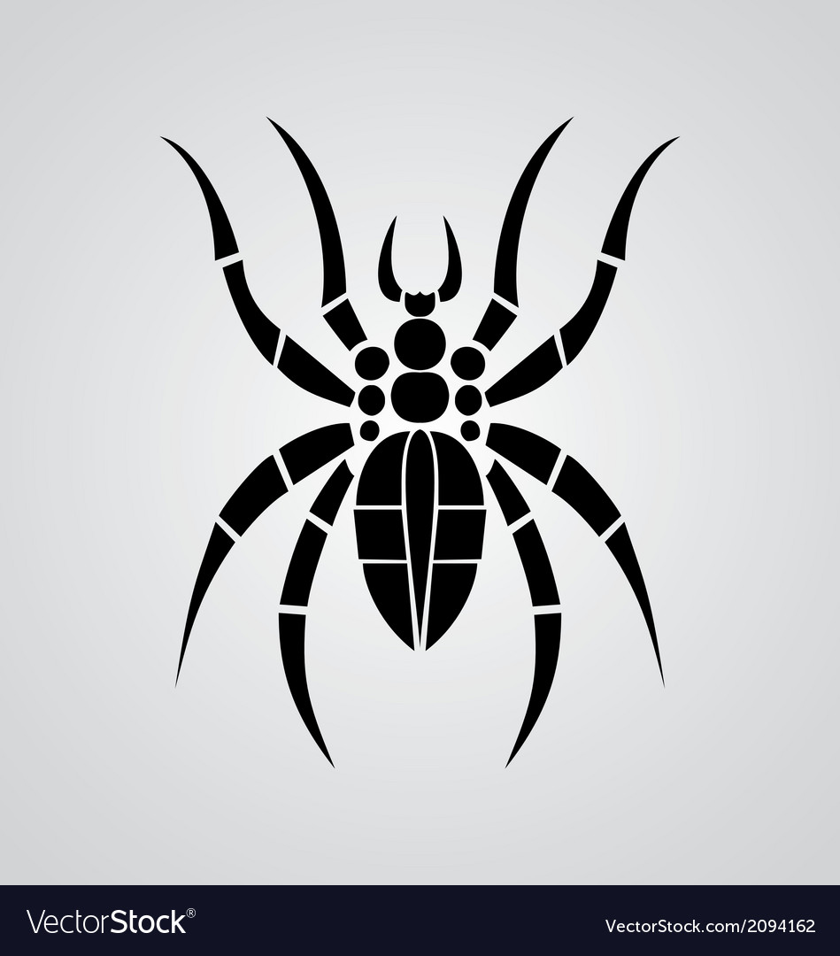 Tribal spider vector | Price: 1 Credit (USD $1)