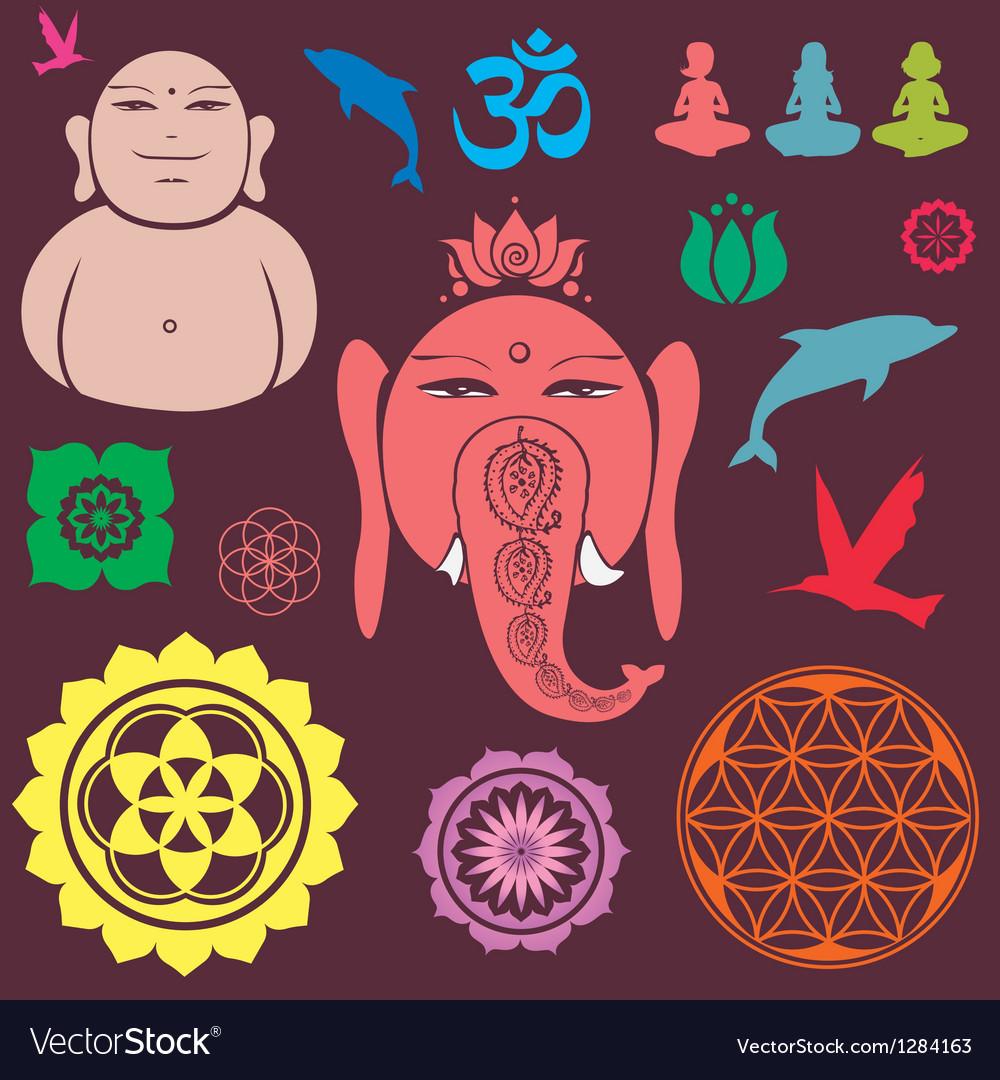 Ganesh collection vector
