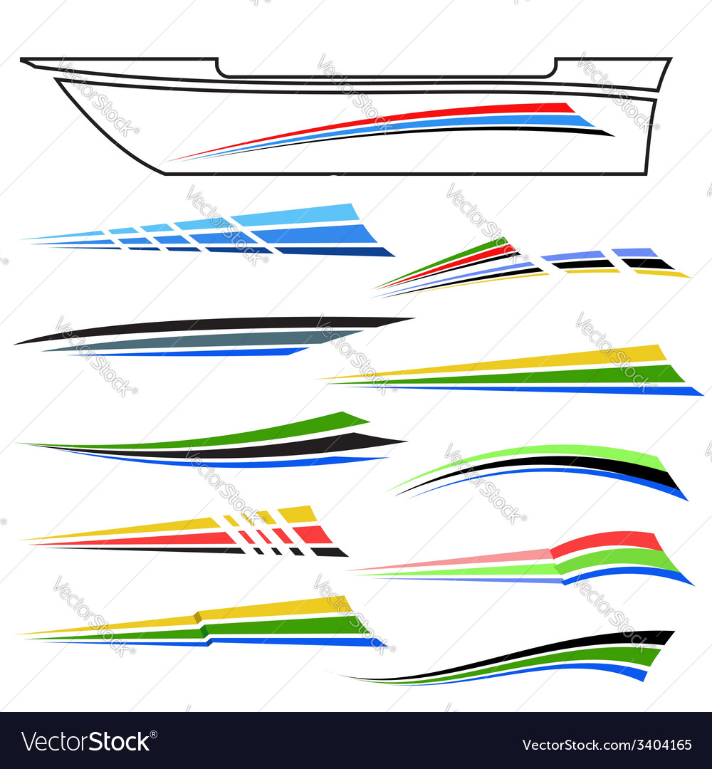 Boat graphics vector | Price: 1 Credit (USD $1)