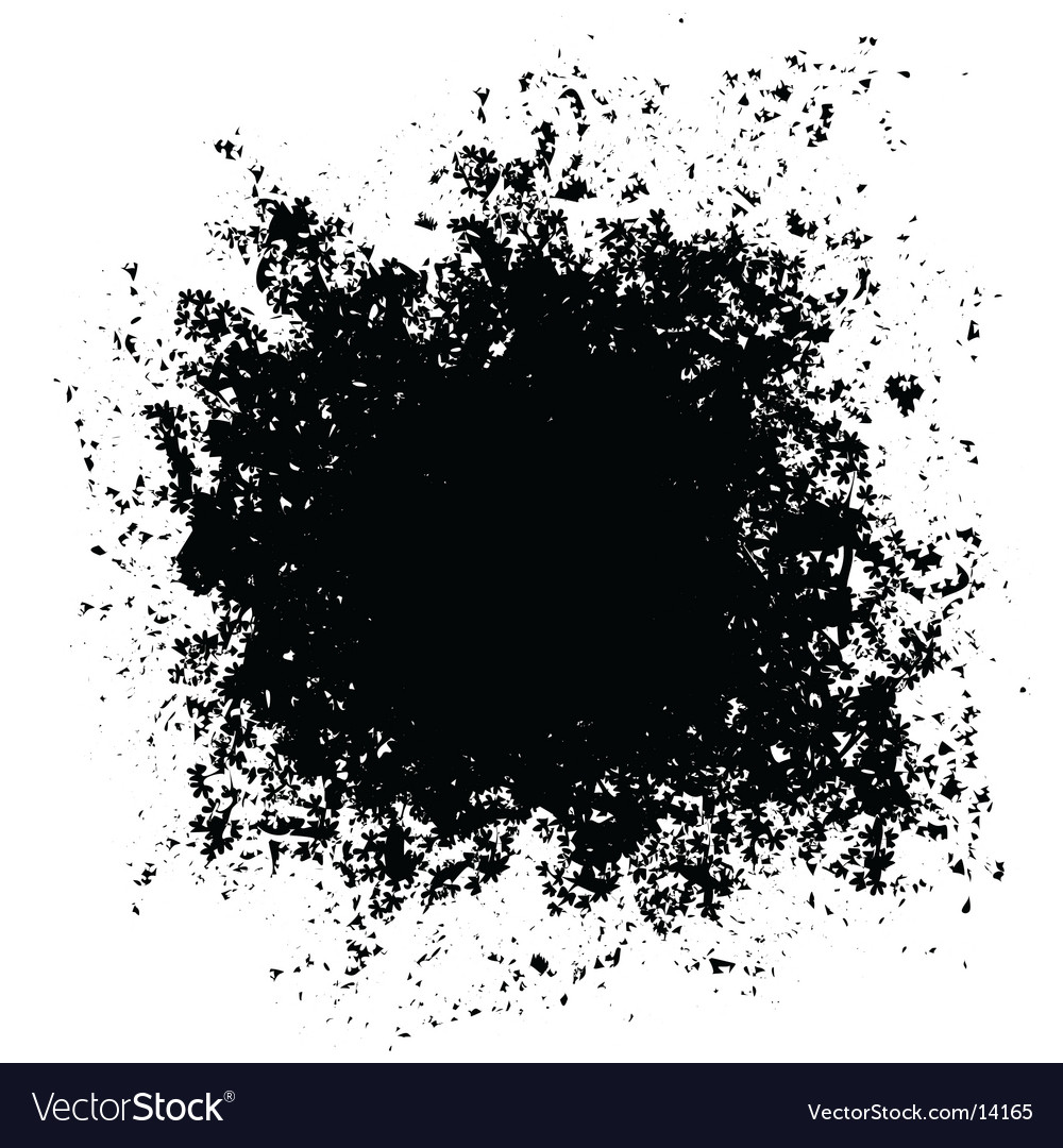 Grunge hole vector | Price: 1 Credit (USD $1)