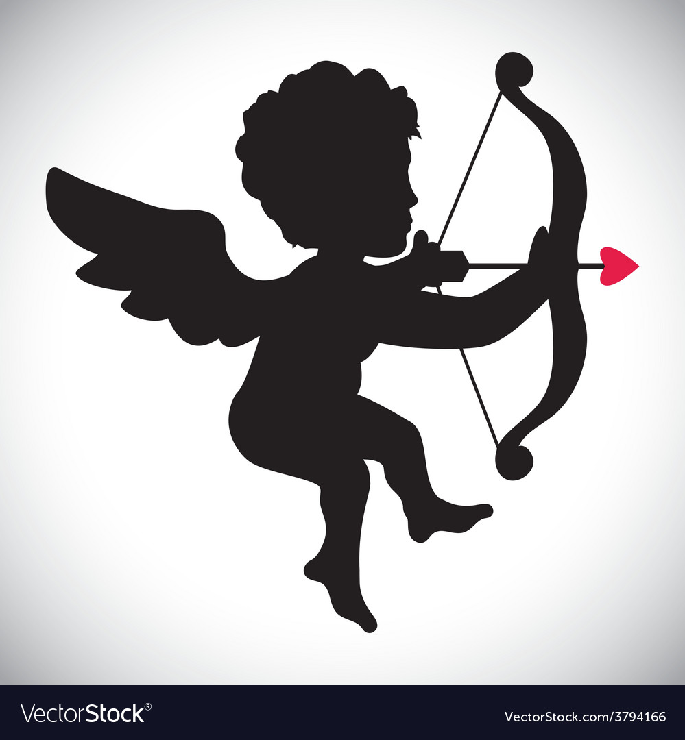 Angel cupid vector | Price: 1 Credit (USD $1)