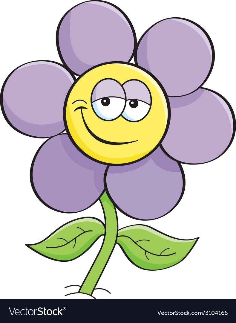 Cartoon flower vector   Price: 1 Credit (USD $1)