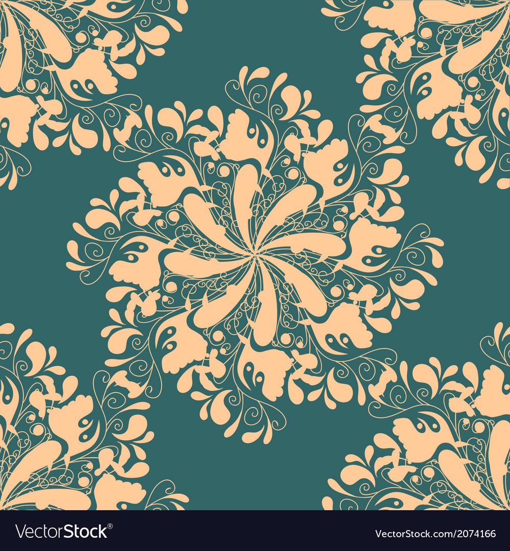Flower circles vector | Price: 1 Credit (USD $1)