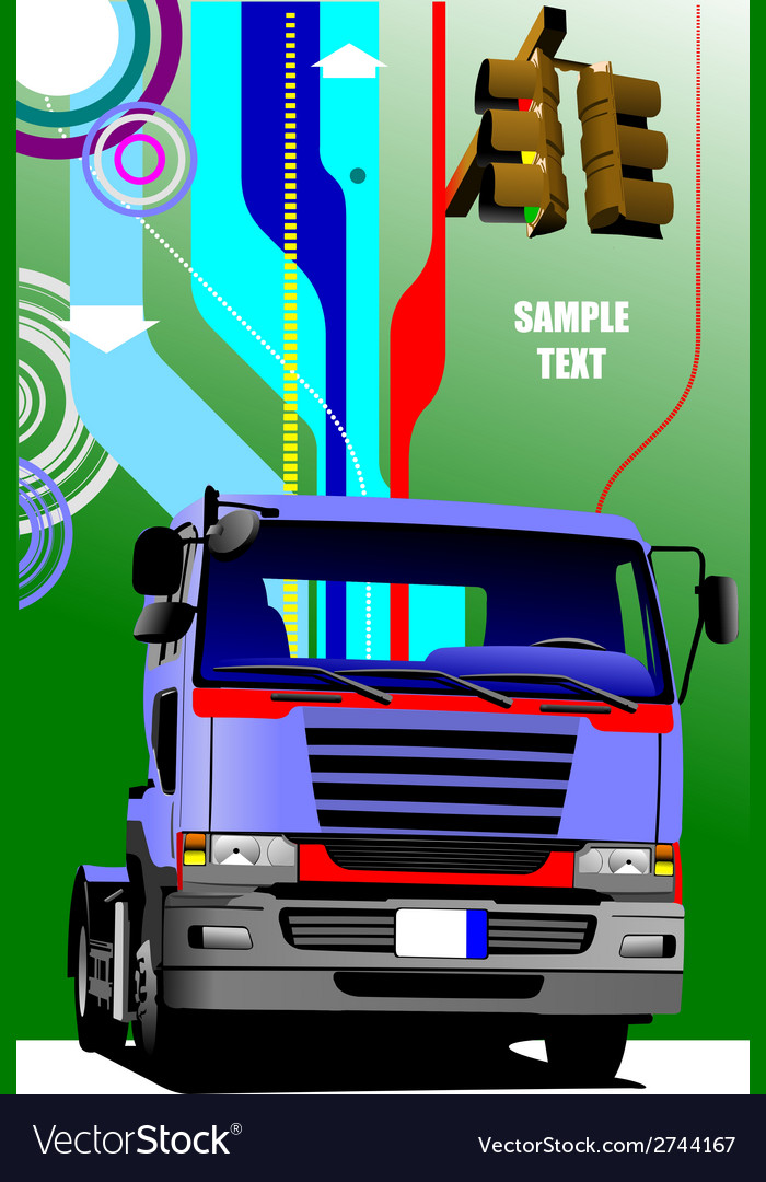Al 0549 truck 02 vector   Price: 1 Credit (USD $1)