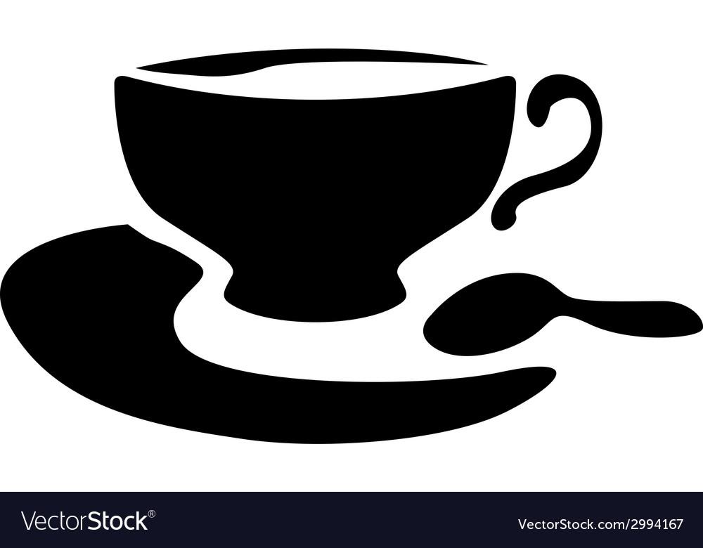 Cup tea vector | Price: 1 Credit (USD $1)