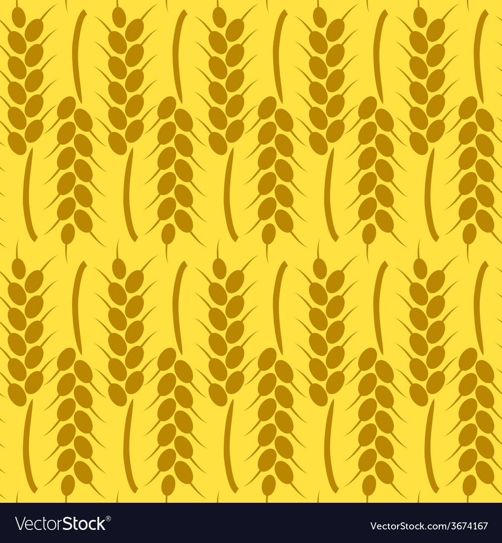 Harvest background for autumn seamless pattern vector | Price: 1 Credit (USD $1)