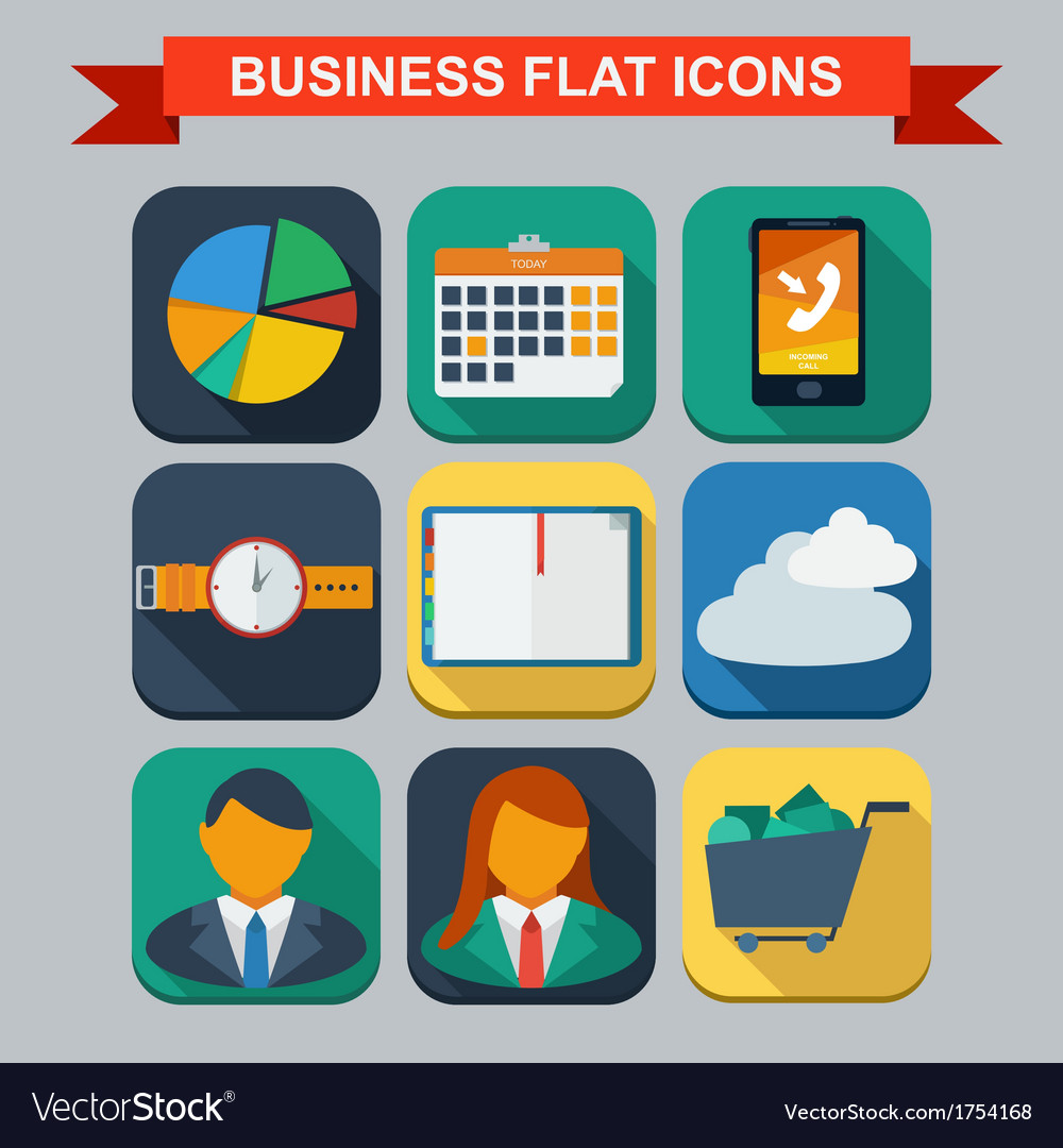 Business infographic flat design vector | Price: 1 Credit (USD $1)