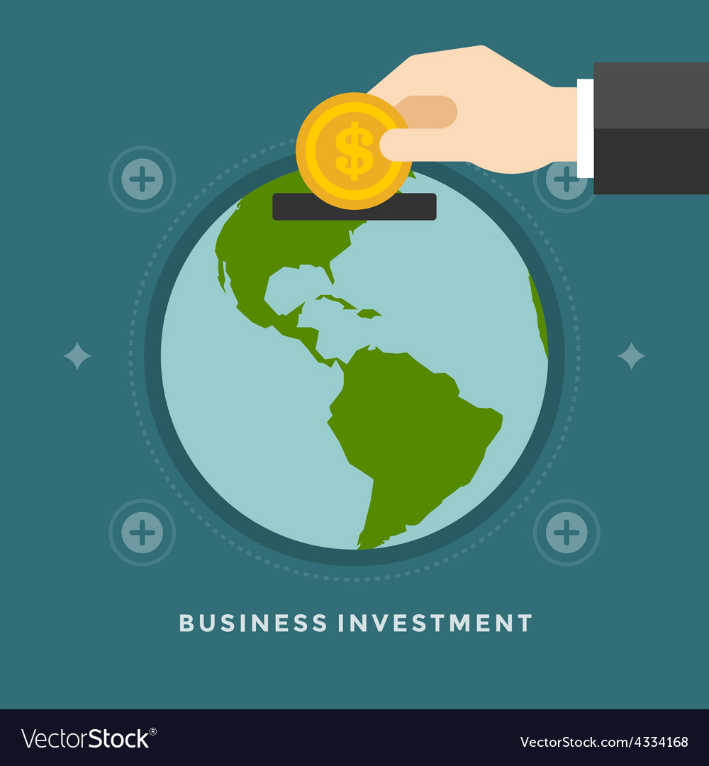 Flat design business concept vector | Price: 1 Credit (USD $1)
