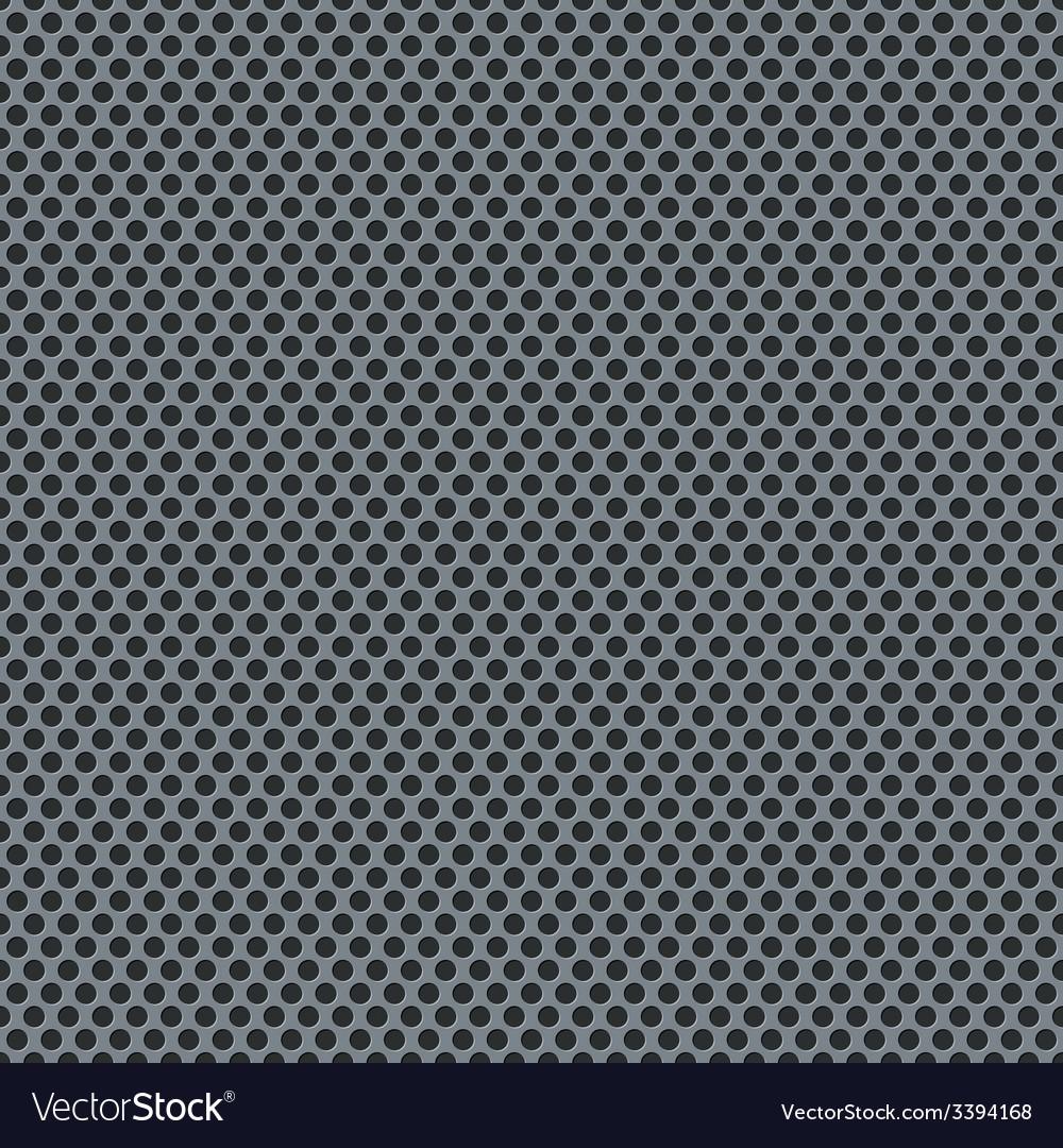 Silver metallic grid pattern vector | Price: 1 Credit (USD $1)
