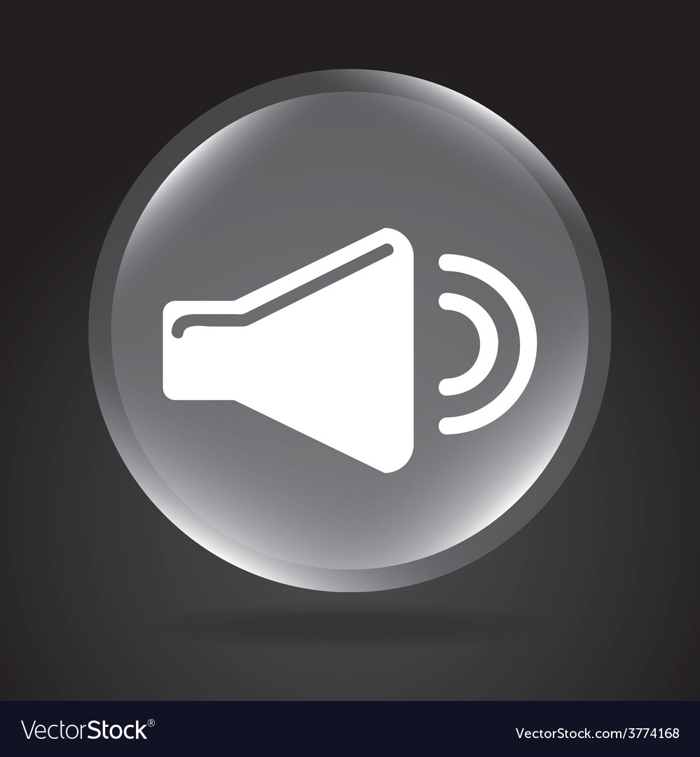 Sound icon vector | Price: 1 Credit (USD $1)