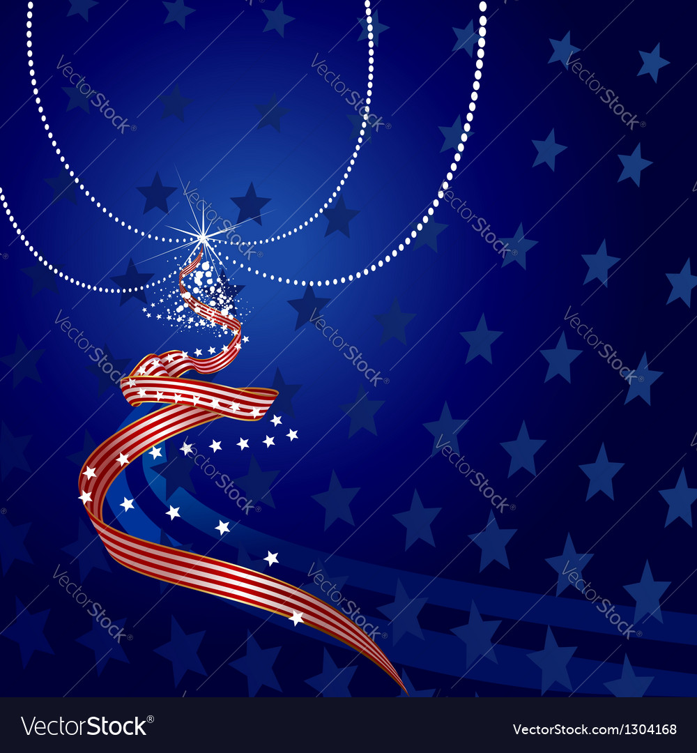 Us themed christmas vector | Price: 1 Credit (USD $1)