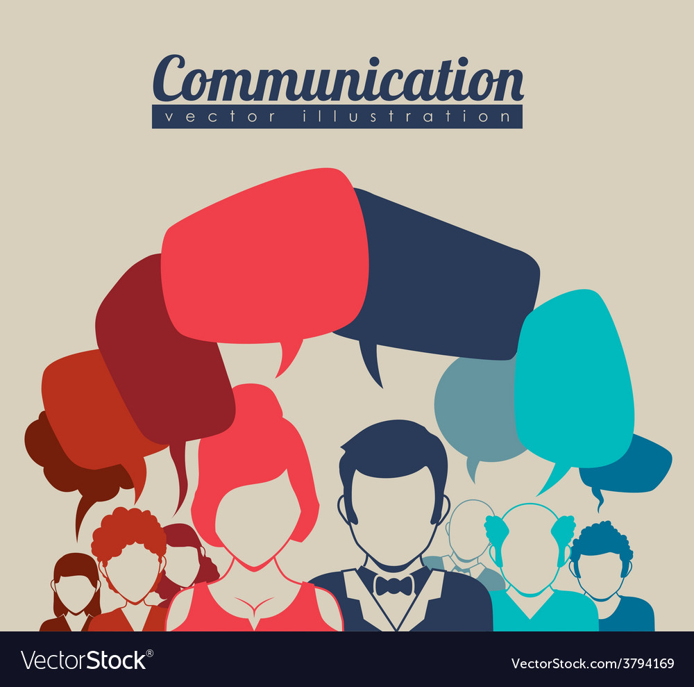 Speech bubbles communication vector   Price: 1 Credit (USD $1)