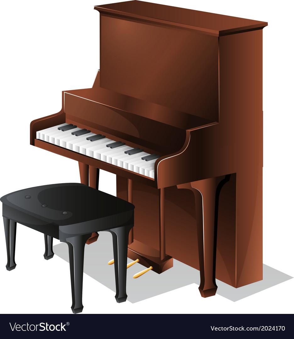 A piano vector | Price: 1 Credit (USD $1)