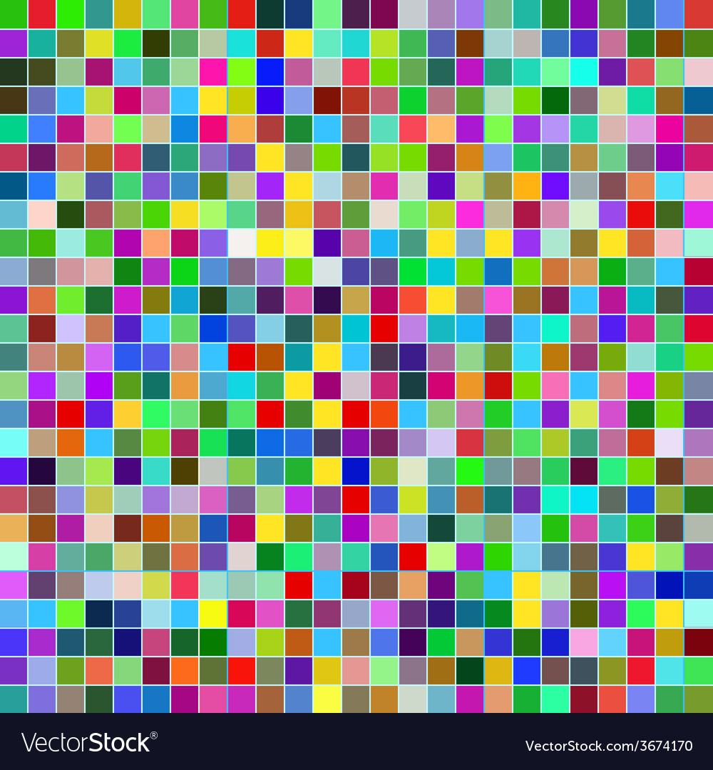 Abstract design mosaic vector | Price: 1 Credit (USD $1)