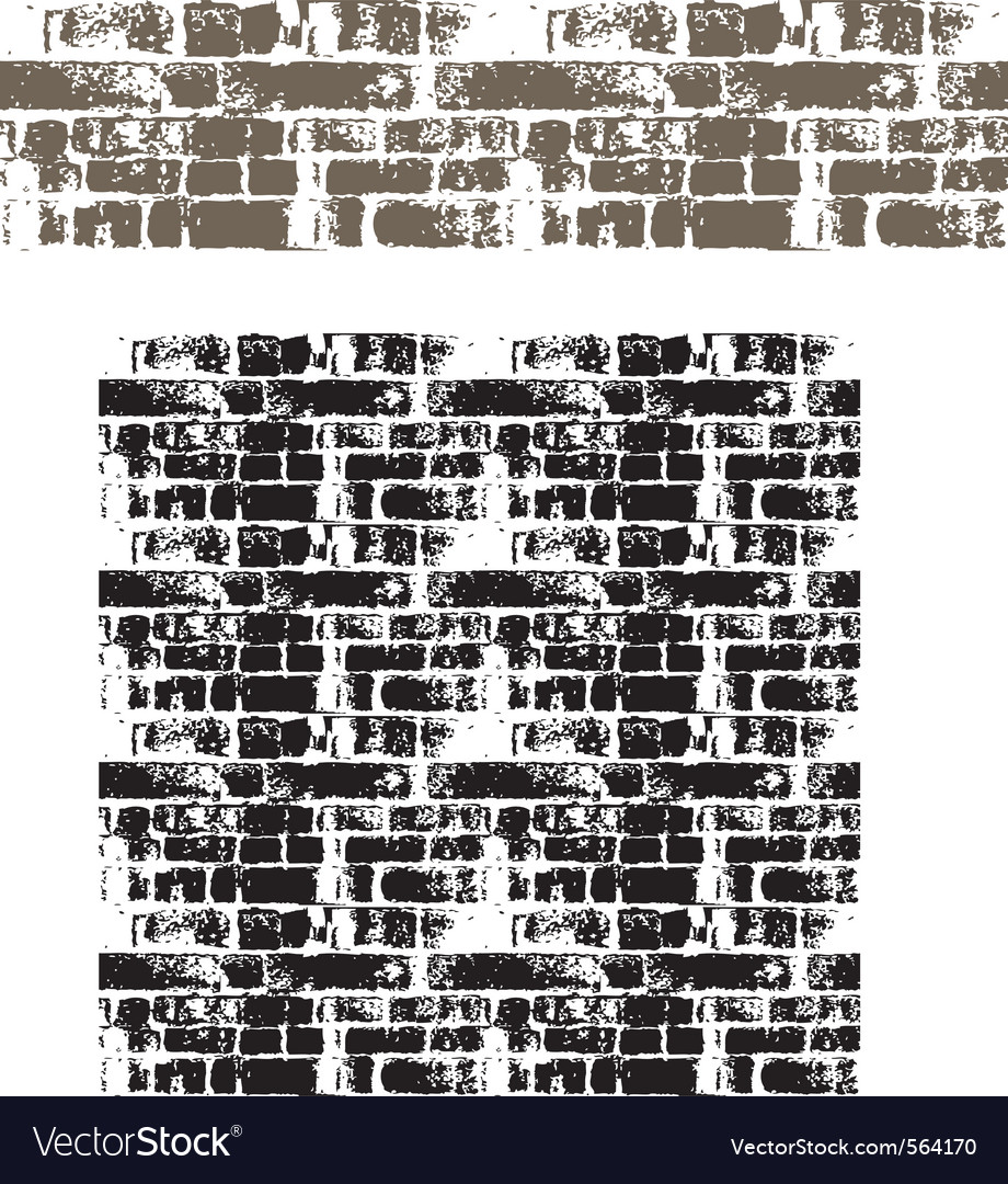 Grunge brick wall seamless vector | Price: 1 Credit (USD $1)