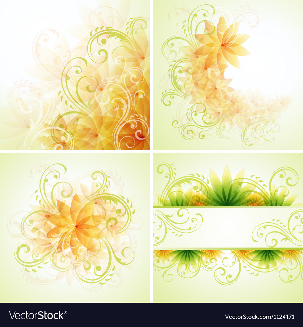 Floral designs vector   Price: 1 Credit (USD $1)