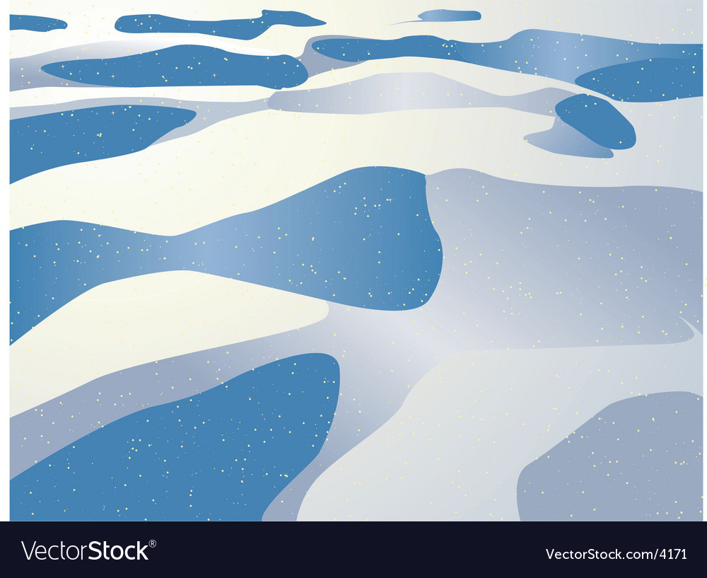 Snowy wintry background vector | Price: 1 Credit (USD $1)