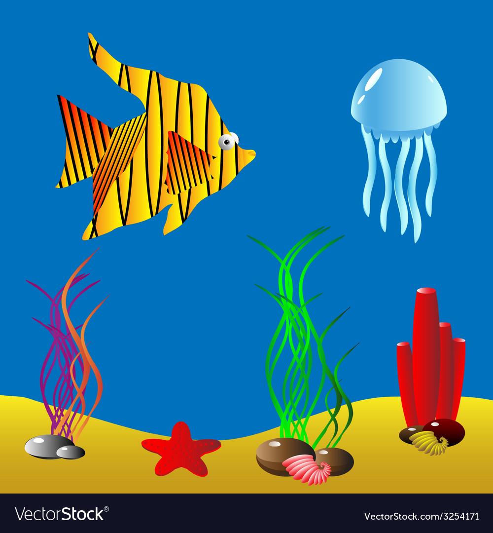 Underwater vector | Price: 1 Credit (USD $1)