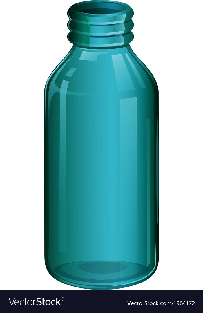 A medical bottle vector | Price: 1 Credit (USD $1)