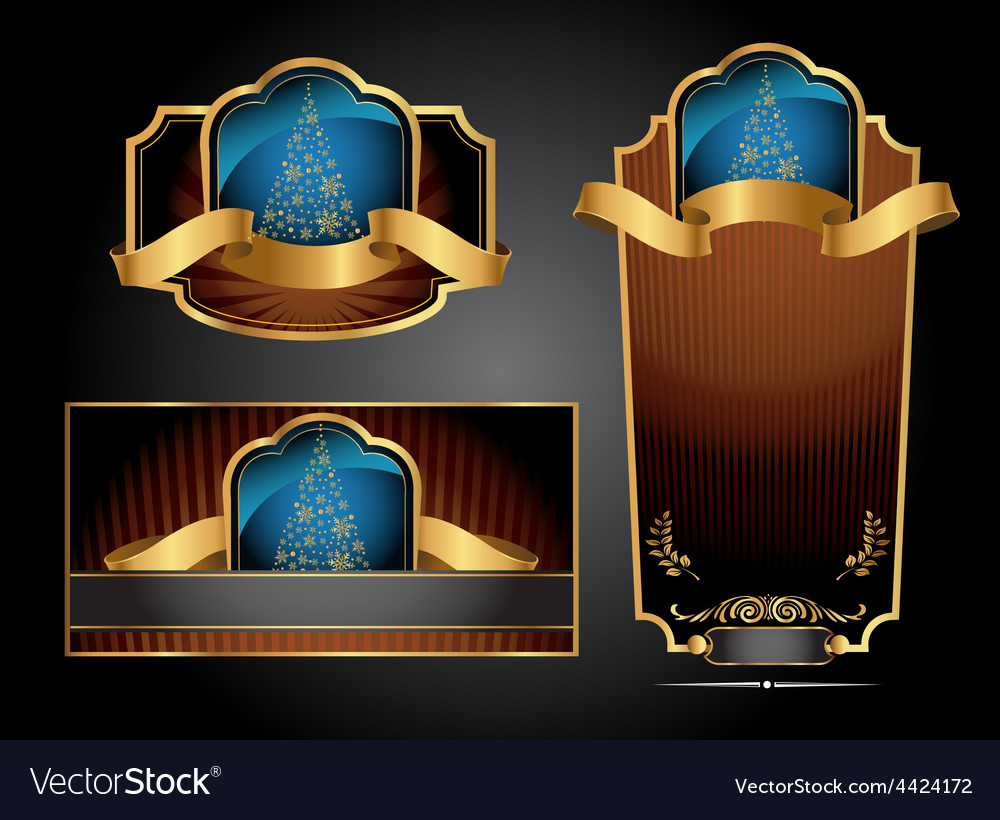 Christmas decoration collection vector | Price: 3 Credit (USD $3)