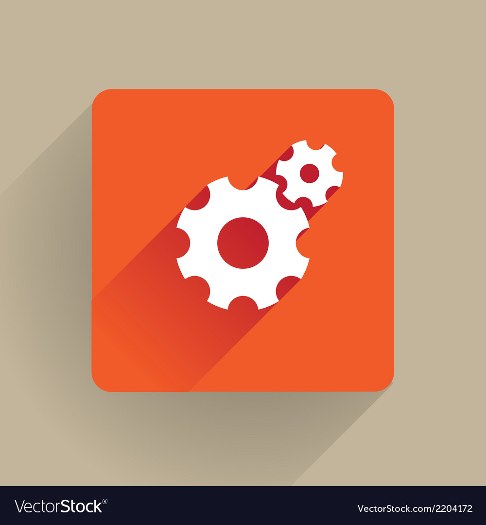 Cogs icon vector | Price: 1 Credit (USD $1)