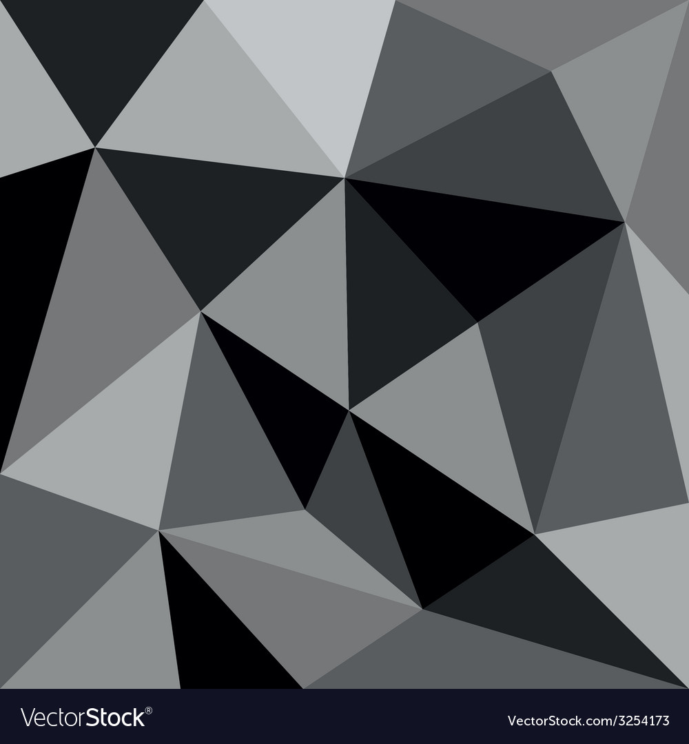 Grey triangle background or pattern vector | Price: 1 Credit (USD $1)