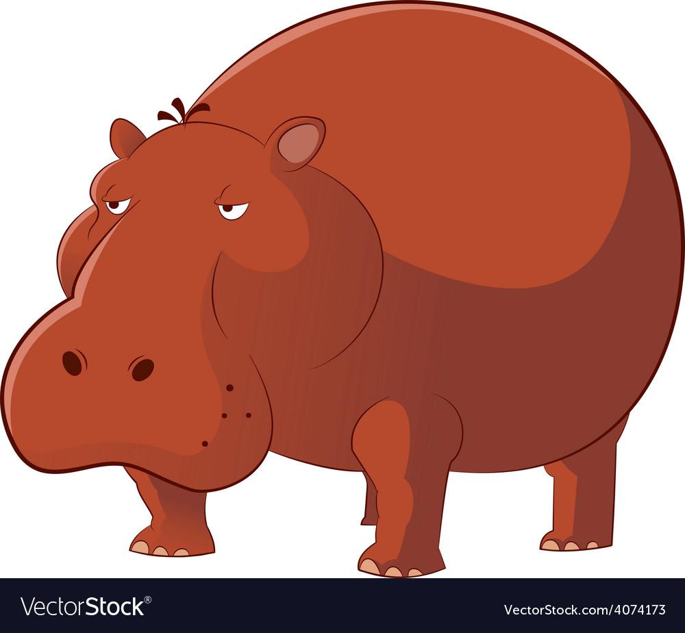 Hippopotamus vector   Price: 1 Credit (USD $1)