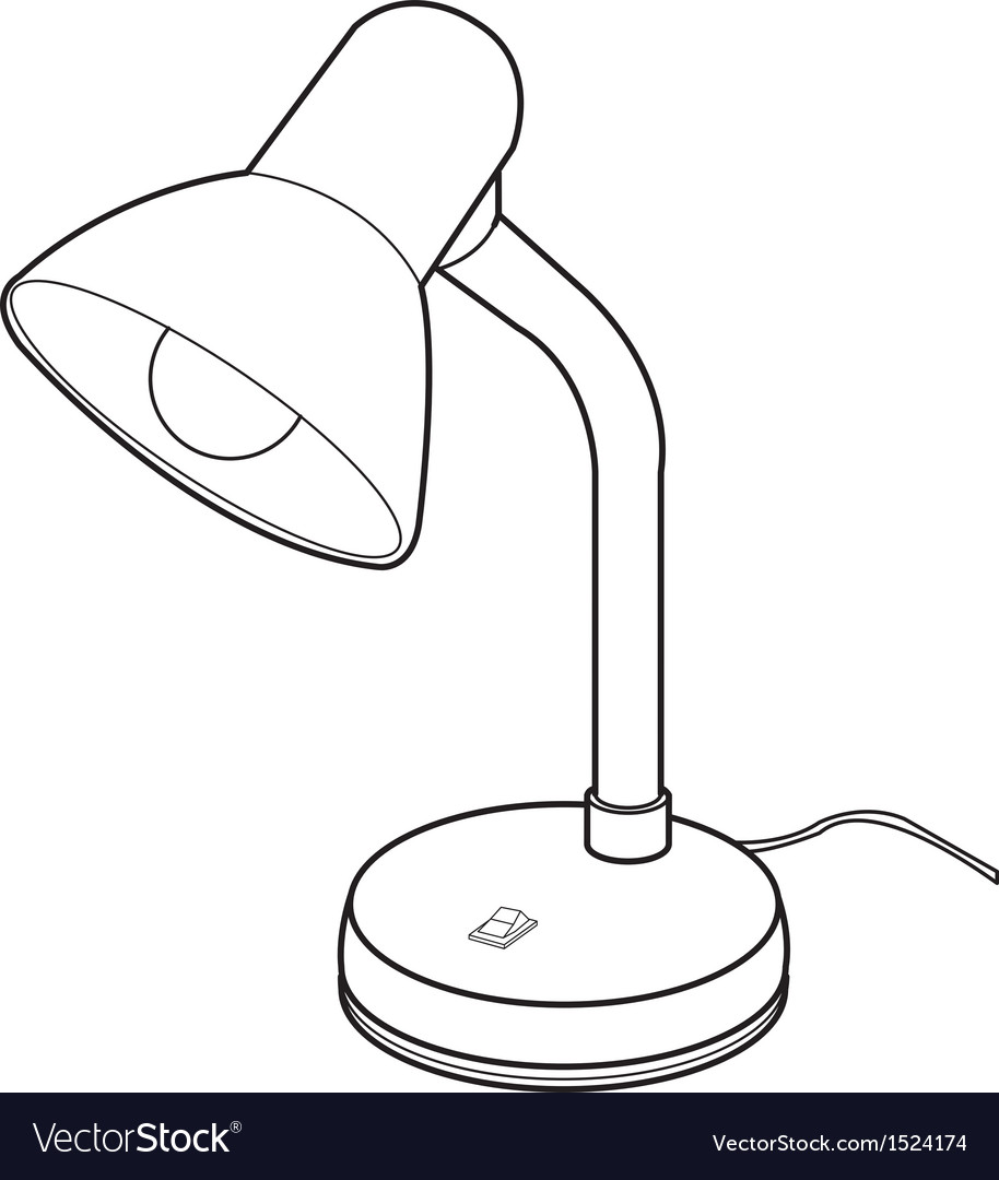 Reading lamps vector | Price: 1 Credit (USD $1)