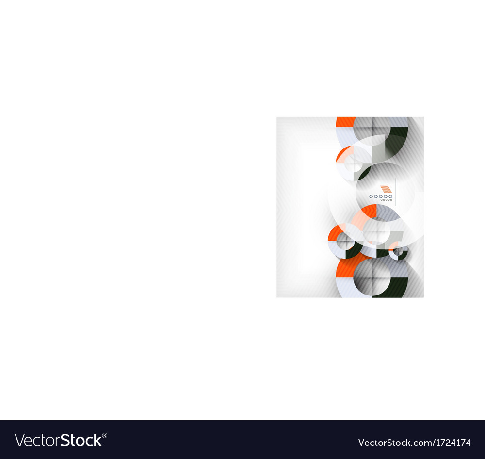 Technology geometric shape abstract background vector | Price: 1 Credit (USD $1)