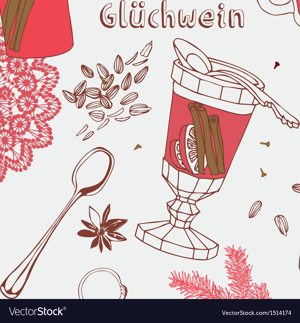 Warm wine vector | Price: 3 Credit (USD $3)