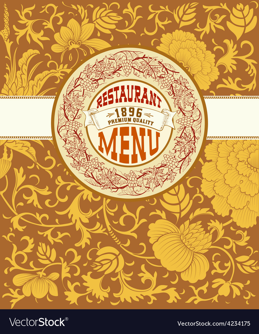 000 menu card vector | Price: 1 Credit (USD $1)