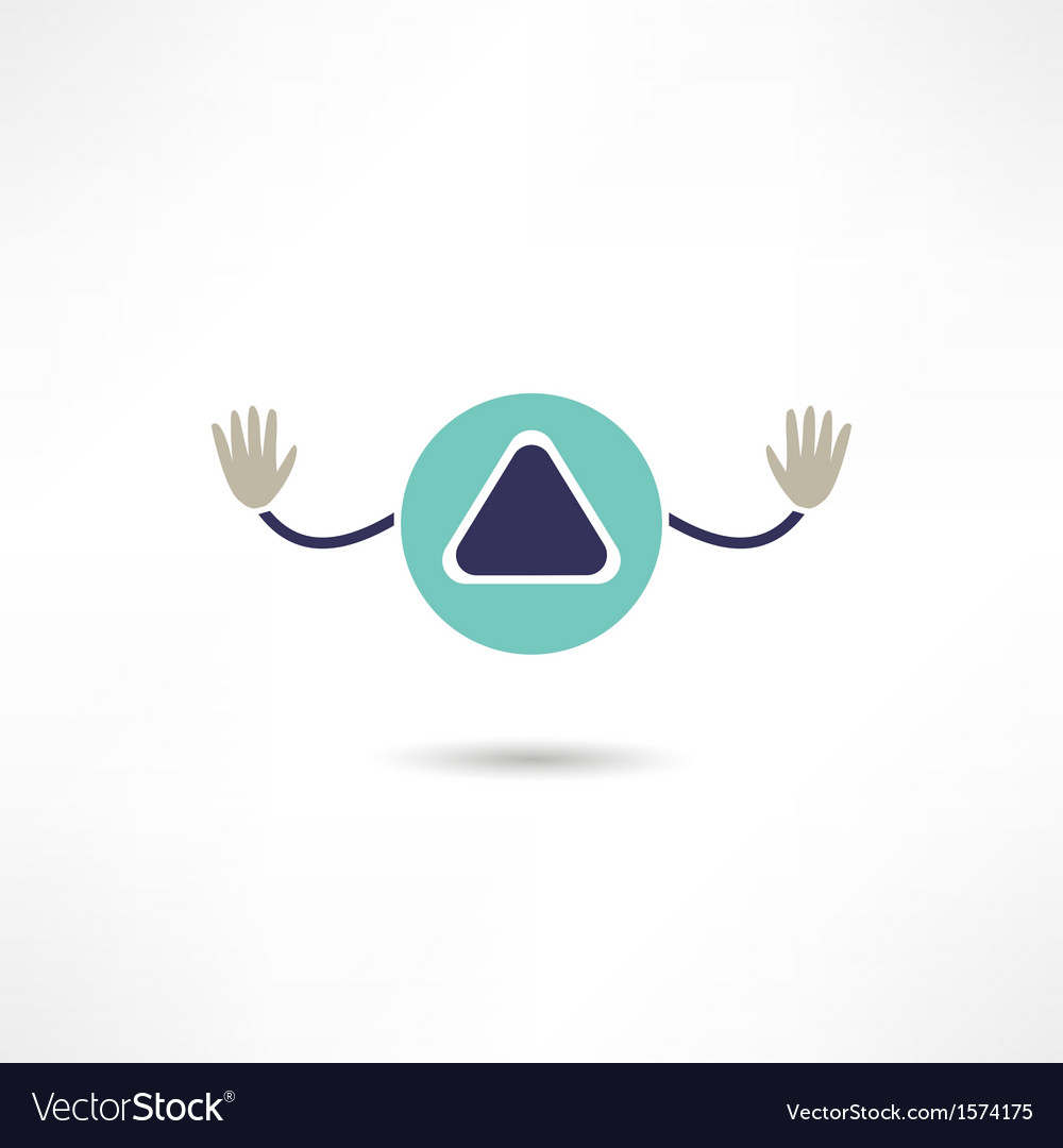 Play button icon vector | Price: 1 Credit (USD $1)