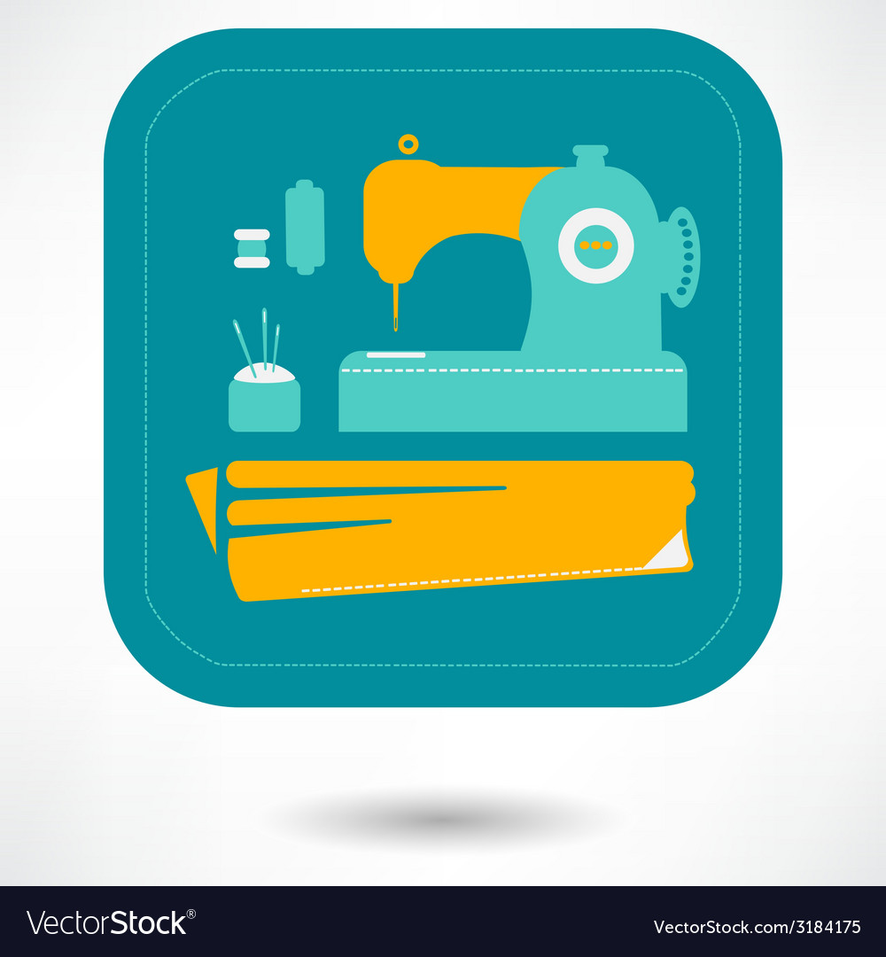 Sewing icons set -  eps 10 vector | Price: 1 Credit (USD $1)