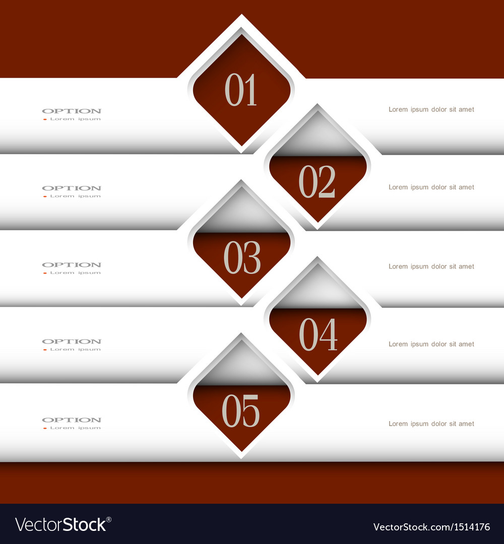 3d modern white design template vector | Price: 1 Credit (USD $1)