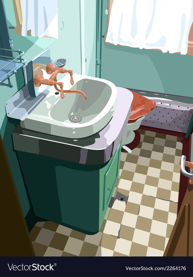 Bathroom vector | Price: 3 Credit (USD $3)