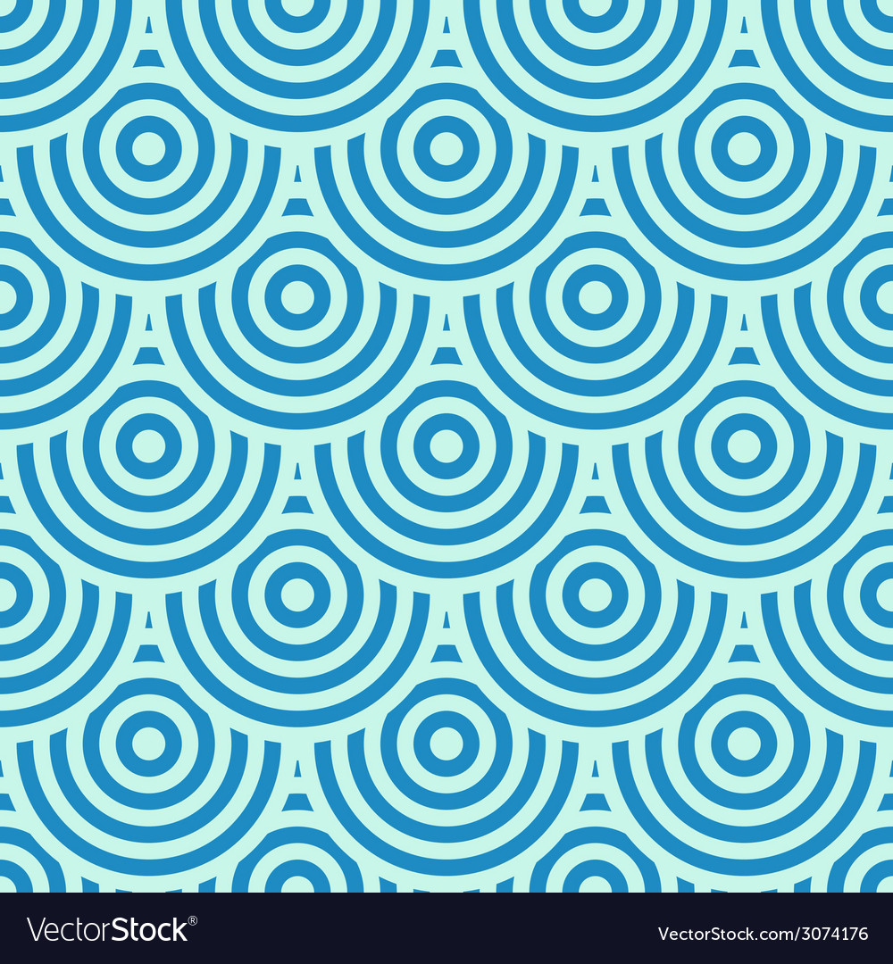 Blue circles background vector | Price: 1 Credit (USD $1)