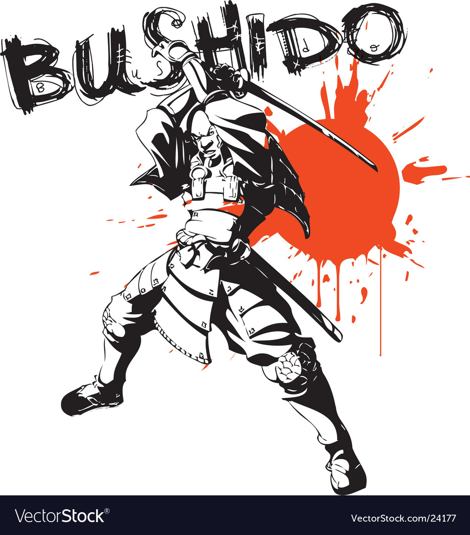 Bushido warrior vector | Price: 1 Credit (USD $1)