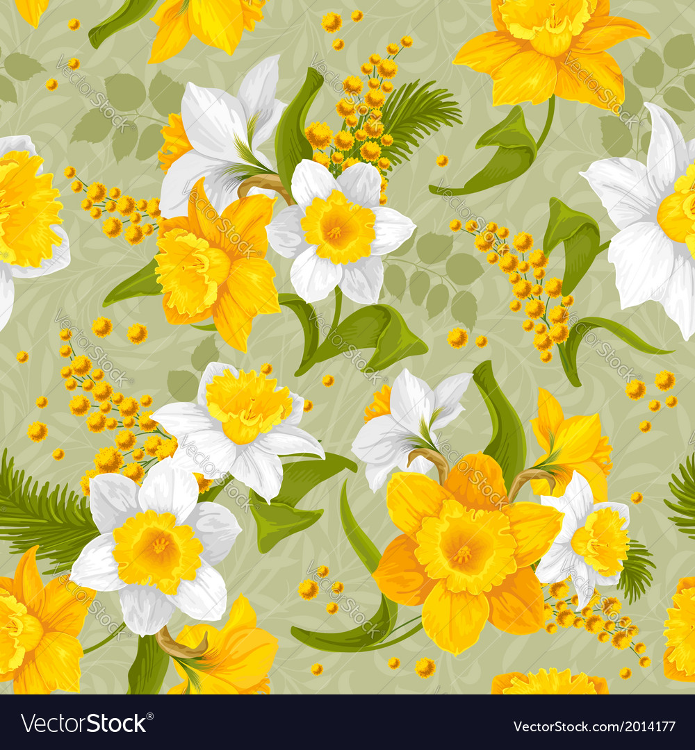 Daffodil vector | Price: 1 Credit (USD $1)