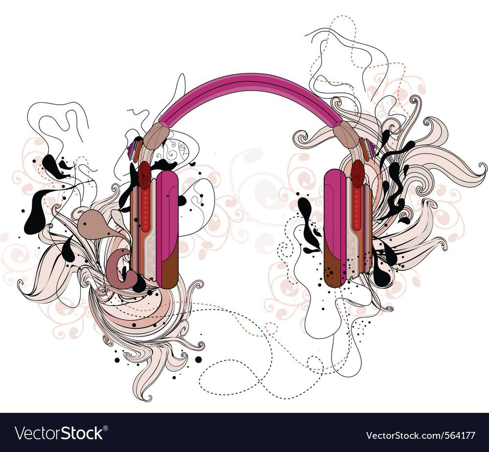 Headphones vector   Price: 1 Credit (USD $1)