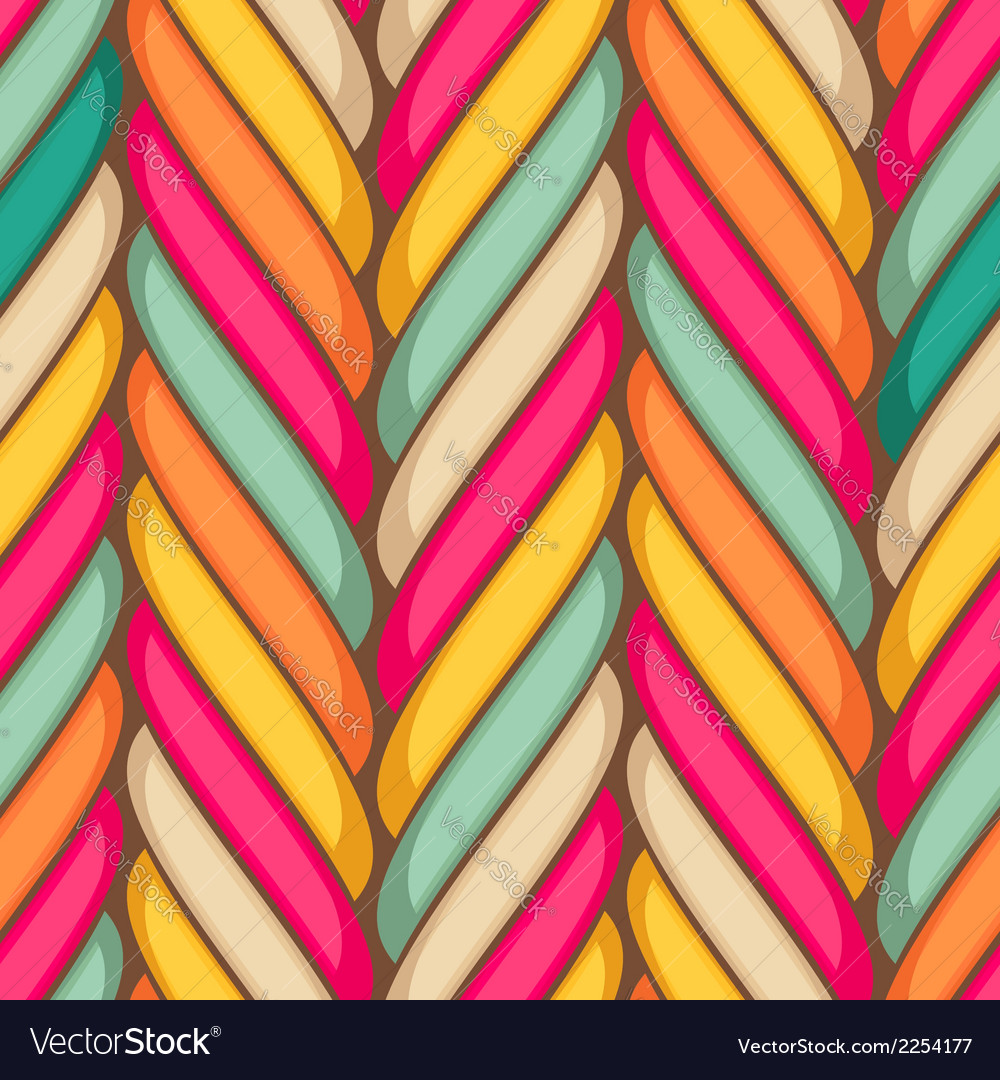 Marshmallow seamless pattern vector | Price: 1 Credit (USD $1)