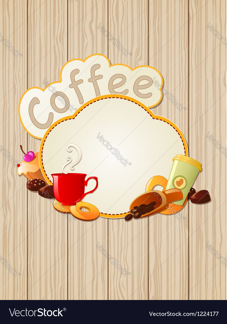 Menu label coffee vector | Price: 1 Credit (USD $1)